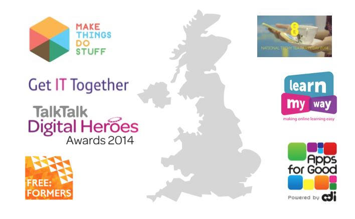 Un tour du Royaume-Uni des projets d'inclusion numérique innovants